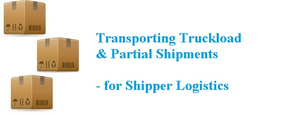 TL, LTL & Partial shipments from REAL SHIPPERS